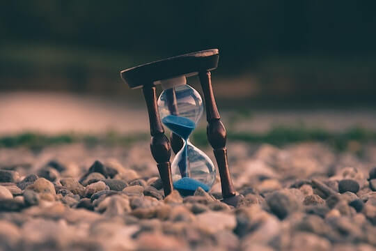 砂時計の時間
