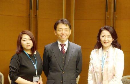 IBJ石坂社長とブランセルミカママ