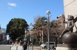 横浜キングの塔と天使